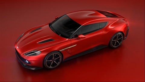 Update: Aston Martin Vanquish Zagato going into limited production.