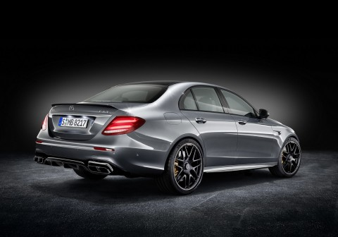 Multi-role fighter: 2017 Mercedes AMG E63 S