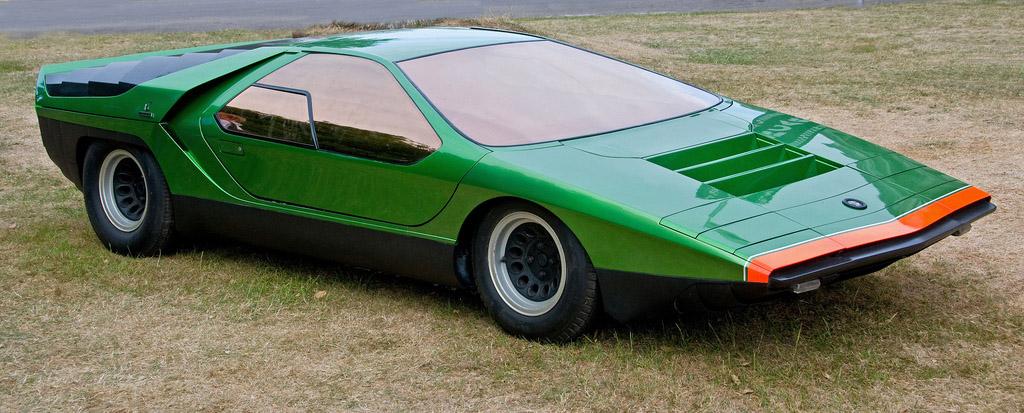 1968 alfa romeo carabo concept carligious