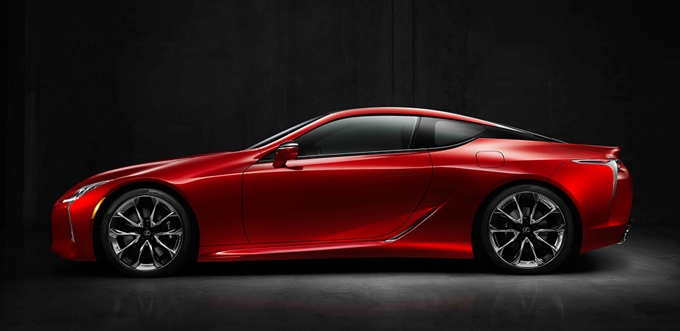Wow finally, a HOT looking Lexus! The LC 500