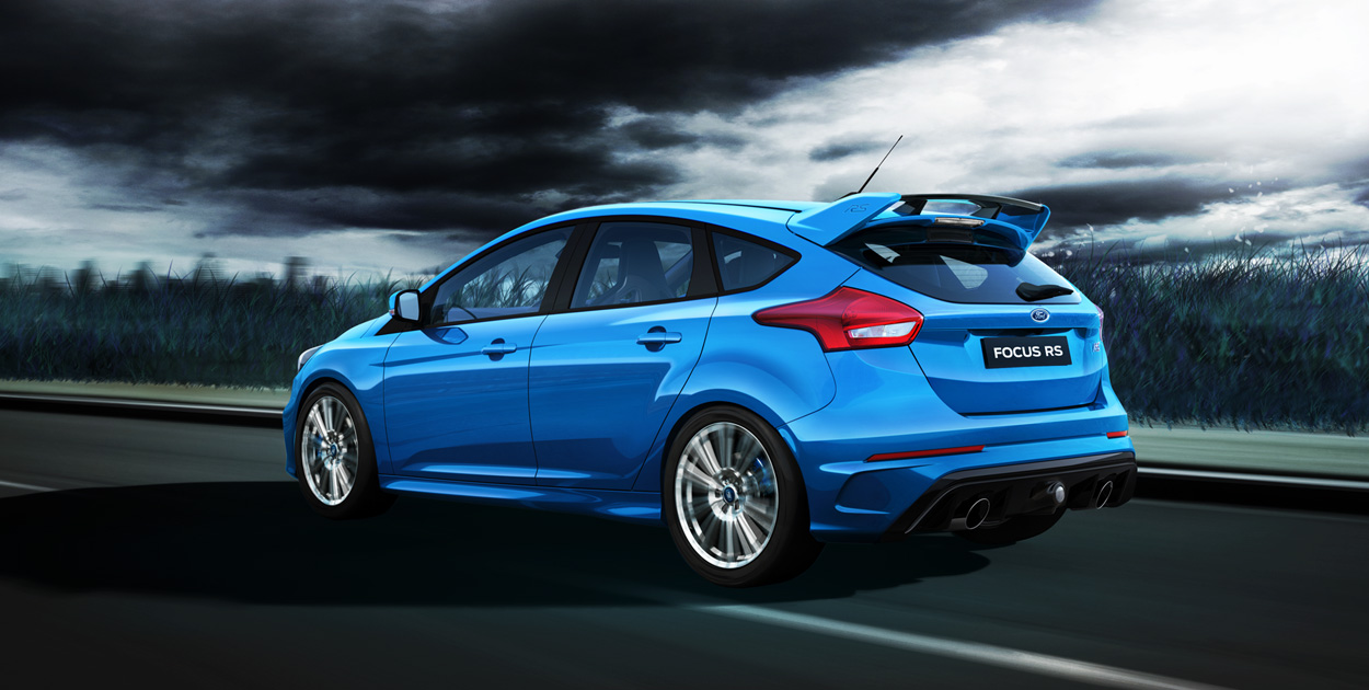 New Hot Hatch Hero 2016 Ford Focus RS